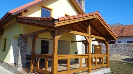 Zastrešená terasa – Betliar
