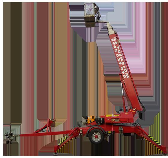 Pracovná plošina pre uľahčenie práce vo výškach Denka lift DL 25