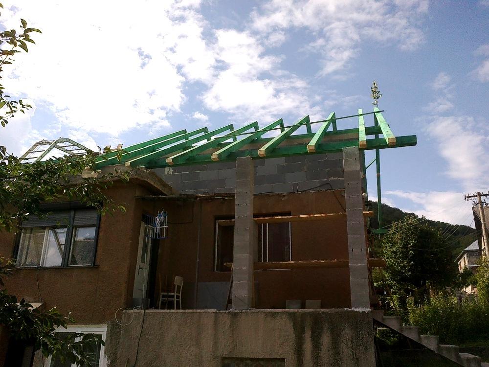 Rekonštrukcia rodinného domu. Rekonštrukčné stavebné práce