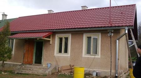 Rekonštrukcia strechy. Rodinný dom v Betliari