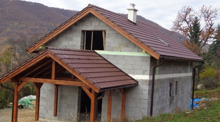 Stavba strechy – Rakovnica