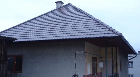Rekonštrukcia strechy – rodinný dom v Betliari