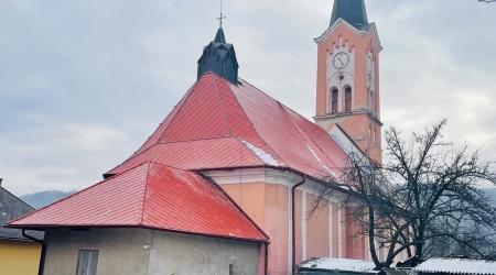 Rekonštrukcia strechy – evanjelický kostol, Gemerská Poloma